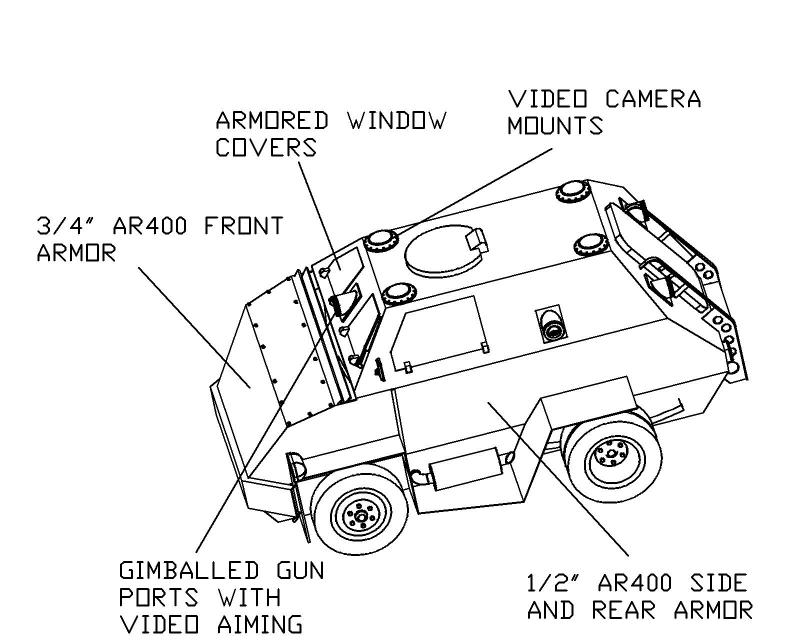 armored car detail